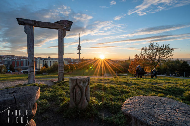 parukarka park prague views