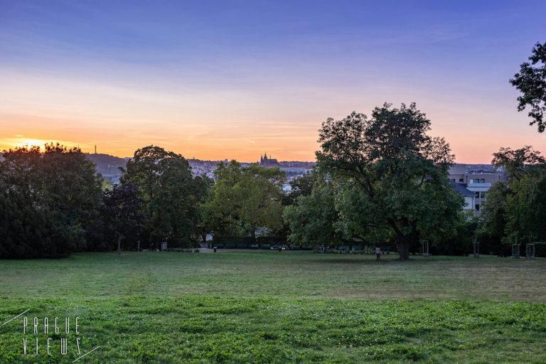 rieger gardens rieger park prague views