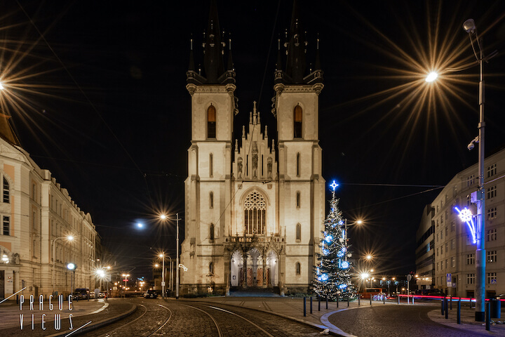 prague christmas tree strossmayer square